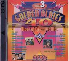 40 Golden Oldies Doppio Vol 3  Cd Sigillato Sealed