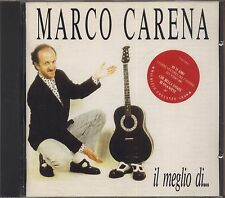 MARCO CARENA - Il Meglio di... - CD 1990  NEAR MINT CONDITION 9 TRACKS