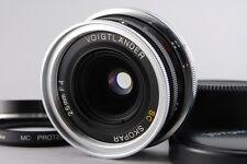 【AB Exc+】Voigtlander SC SKOPAR 25mm f/4 Lens for Nikon S Rangefinder JAPAN #2497