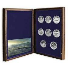 The Full Collection Famous Fantasy Ships That Never Sailed 8 Silver Proof Coins