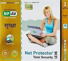 Net Protector Total Security 2016 Gold Edition - 1 PC 1 Year (NPAV Gold)