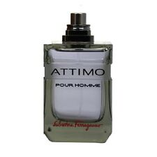 ATTIMO pour homme by Salvatore Ferragamo 3.4 oz EDT Spray Men Cologne TESTER New
