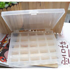 25 Holes Spools Empty Bobbins Sewing Machine Bobbin Case Organizer Storage Box