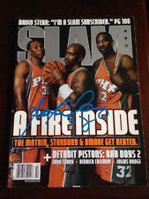 Stephon Marbury Signed Slam Magazine Exact Proof COA Authenticity