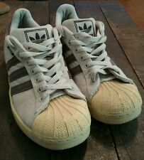 Vtg 90s Mens ADIDAS Original HEMP Tan Rasta Shoes Sneakers 9 US Skateboard Shell