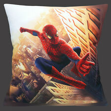 "NEW SPIDERMAN ACTION COMIC HERO FIGURE MULTI COLOUR 16"" Pillow Cushion Cover"
