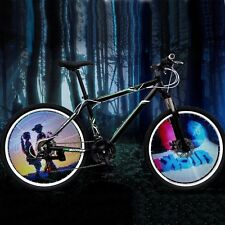 144 RGB LED Bicycle Wheel Light Bicycle Spoke Light Bicycle Bike Cycling Light