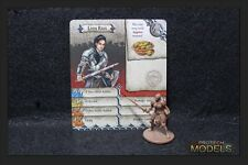 Zombicide Black Plague Kickstarter Exclusive Lady Faye With Card