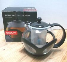 Bodum Kenya Tea Press NIB Make an EXCELLENT cup of tea Larger than the Assam