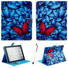 Hot Design Leather Stand Smart Cover Case For Apple iPad 2 3 4/Air/Air2/Mini/Pro