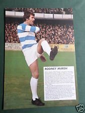 RODNEY MARSH -  QPR - 1 PAGE PICTURE - CLIPPING /CUTTING
