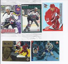 Lot of 5 Oddball Brendan Shanahan Cards McDonalds Post Cereal Only in Canada