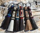 Hand Braided Horse Hair Key Chain-Shorter Style -Various Colors ** Great Gift **