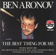 The Best Thing for Me by Benny Aronov (CD, Aug-1998 Arbors Records) NEW & SEALED