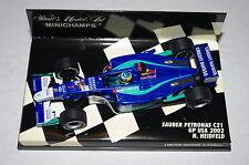 Minichamps F1 1/43 SAUBER PETRONAS C21 Nick HEIDFELD GP USA 2002
