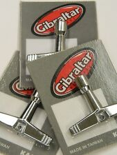 """Set of 3 DRUM TUNING KEY NEW GIBRALTAR Fits Standard 1/4"""" Rods *Free US Ship*"""