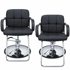 New Black Hydraulic Barber Chair Salon Beauty Styling