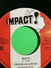 Impact records Mava / Mava Passion Dennis Alcapone .