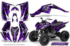 YAMAHA RAPTOR 350 GRAPHICS KIT CREATORX DECALS STICKERS SAMURAI PRB