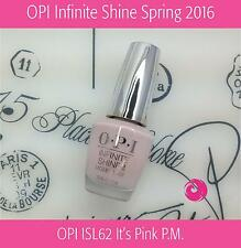 OPI Infinite Shine Spring 2016 - OPI ISL62 It's Pink P.M. (Free Intl Ship)