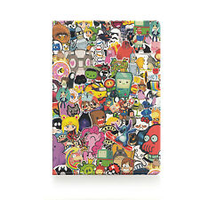Passport Holder CARTOONS, vinyl cover Document ID Travel case protector skin