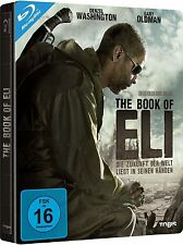 THE BOOK OF ELI (Denzel Washington) Blu-ray Disc, Steelbook NEU+OVP