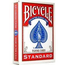 Bicycle Playing Cards (Red Standard), Brand New and Sealed Deck,MADE IN USA
