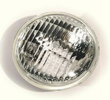 """4""""VINTAGE EARED & UNITY HEAD LIGHT CLEAR REPLACEMENT LENS ONLY BOBBER CHOPPER"""