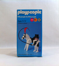 NEW 1974 Vintage Playpeople ✧ CIRCUS ✧ Horse Marx Toys Playmobil #1792