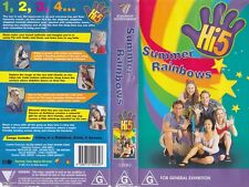 HI 5 SUMMER RAINBOW VHS VIDEO PAL~ A RARE FIND IN EXCELLENT CONDITION