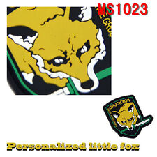 Collectibles Militaria Fox Hound Special Force Group PVC Rubber Sticker Patches