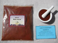 NEW MEXICO *HOT* RED CHILE POWDER  1 Pound  Fresh   *Free Shipping for USA*