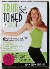 NEW FITNESS WORKOUT DVD TONYA LARSON TRIM & TONED IN 20 BODY-SCULPTING & CARDIO