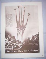 Politische Fotomontage John Heartfield 1976 Plakat !