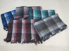 One Traditional Mexico Recycled Wool Fiber Blanket Yoga Accessories Lot Catalina
