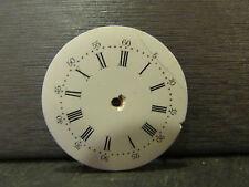 ancien cadran emaillé  montre a gousset 2,9 cm 10