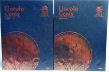 Whitman Lincoln Cent # 3 & 4 1975-2015 Coin Folders, Albums Books