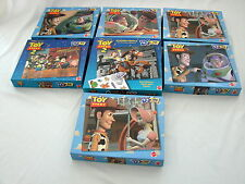 Vintage Toy Story Woody Buzz and Characters Puzzles x 7 Complete Very Good
