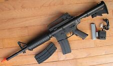 Well D94S M4A1 Carbine Style Auto Electric Airsoft Gun with Two Magazine