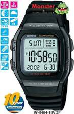 AUSSIE SELLER CASIO WATCH W-96H-1BV W96H W-96H W-96 50-METRES 12-MONTH WARRANTY