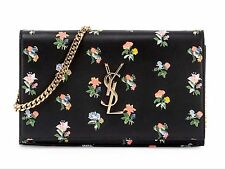 NWT Authentic SAINT LAURENT  Wallet Chain Cross Body Bag