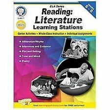 Reading, Grades 6 - 8 : Literature Learning Stations by Schyrlet Cameron and...
