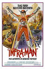 THE SUPER INFRAMAN Movie POSTER 27x40