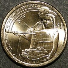 BU UNC United States 2014 Sacagawea Native American dollar $1 coin P or D
