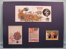 """Stanley Kramer's """"It's a Mad, Mad, Mad, Mad World"""" & Jonathan Winters autograph"""