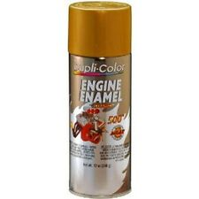 Duplicolor DE1604 Engine Enamel Paint, Universal Gold, 12 Oz Can