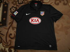 Atletico Madrid 2009/10 NIKE XL AWAY 5 KIA shirt jersey Camiseta Maglia 09