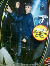 "STAR TREK New ""SPOCK"" ACTION FIGURE USS ENTERPRISE Starfleet Phaser Utility Belt"