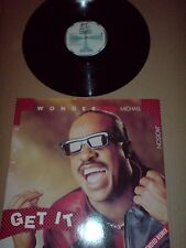 STEVIE WONDER AND MICHAEL JACKSON - 12 INCH - GET IT