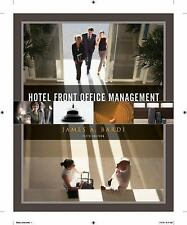 Hotel Front Office Management by James A. Bardi (2010, Hardcover)